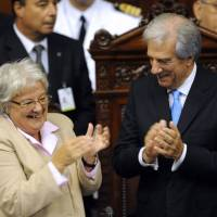 La esposa de Mujica será la nueva vicepresidenta de Uruguay